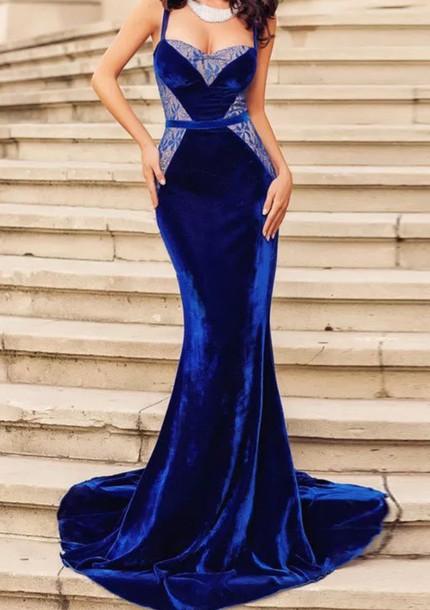 dress prom dress prom gown velvet dress bodycon dress mermaid prom dress