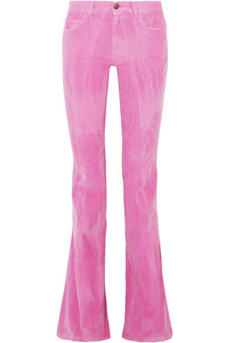pants baby cotton pink baby pink