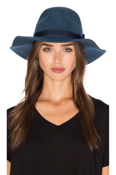 Brixton hat blue