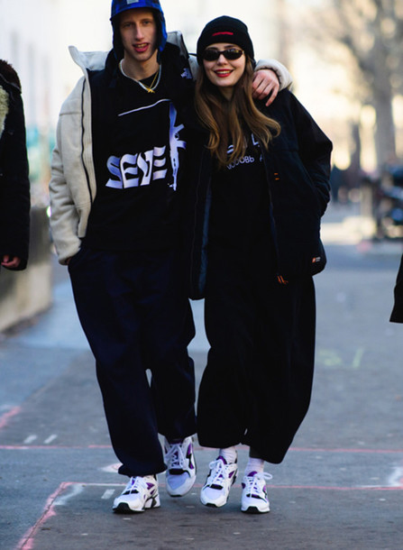 pants, tumblr, black pants, wide,leg pants, hoodie, black