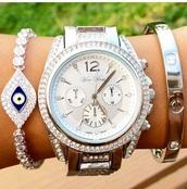 jewels,accessories,diamonds,watch,bracelets,silver,sterling silver bracelet