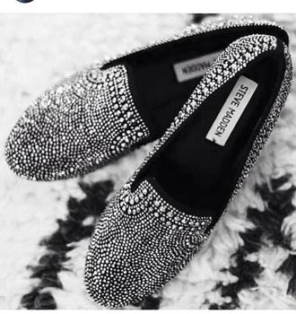 shoes fashion style rhinestones smoking slippers