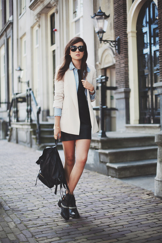 style scrapbook dress shoes shirt jacket sunglasses