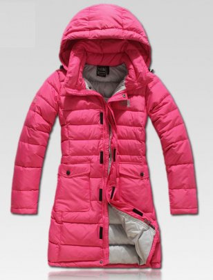 The North Face Women's Pink Long Winter Down Jackets [Pink Long Winter Down Jackets] - $212.00 : The North Face Outlet, Cheap North Face Outdoor Jackets Online Sale