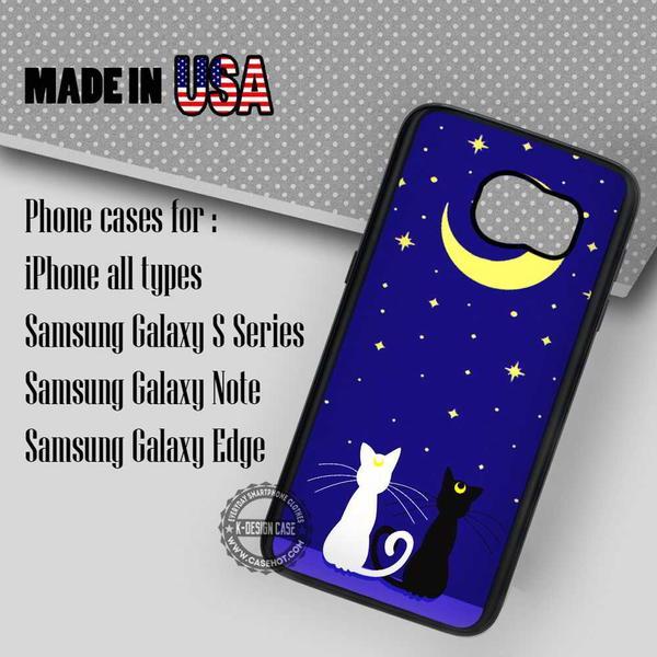 Samsung S7 Case - Cat Luna Anime- iPhone Case #SamsungS7Case #cartoon #yn