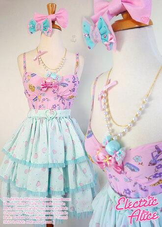 lolita fairy kei adorable top candy sweet