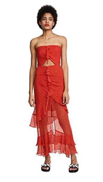 Bec & Bridge dress maxi dress maxi print