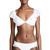 Ella Moss Dot Off Shoulder Bikini Top