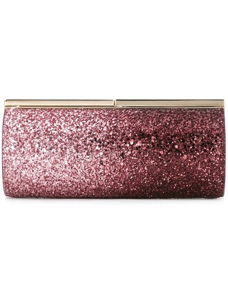 clutch purple pink bag