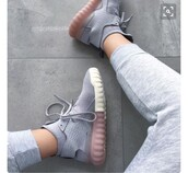 shoes,pink,grey,love,adidas,Tubular X,adidas grey sneakers,sneakers,fashion,style,stylish,trainers,colorblock,adidas shoes