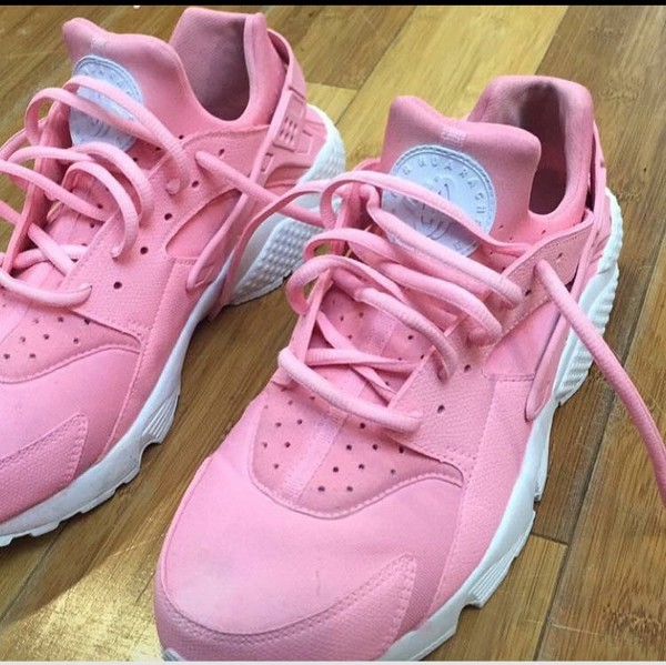 blush pink adults baby pink rose nike air huarache rosa. Black Bedroom Furniture Sets. Home Design Ideas