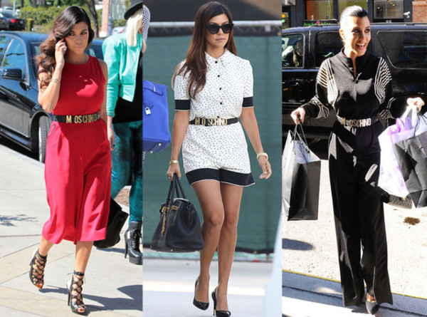 belt moschino celebrity belt styles streetstyle haute couture designer inspire moschino belt moschino black logo belt moschino belt gold kourtney kardashian celebrity style celebrity style steal