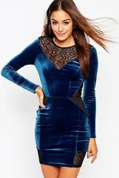 dress,blue,velvet,style,fashion,vintage,girly,boho,hippie,sexy,cute,tumblr,instagram,girl,su,cool,cute dress,very sexy dress,lace dress,hot,crushed velvet,love,women,prom,spring break,homecoming