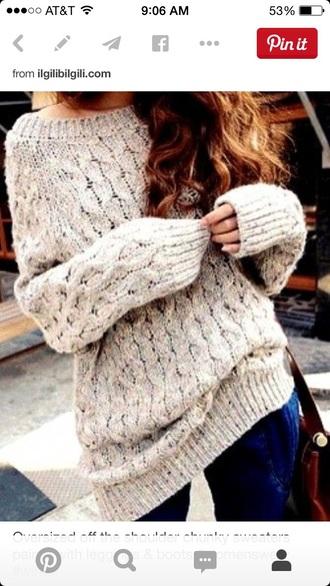 sweater oversized sweater fashion winter sweater