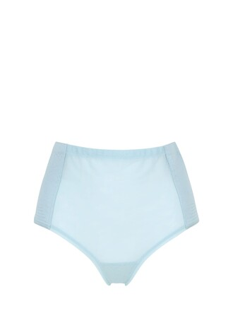 high silk satin light blue light blue underwear