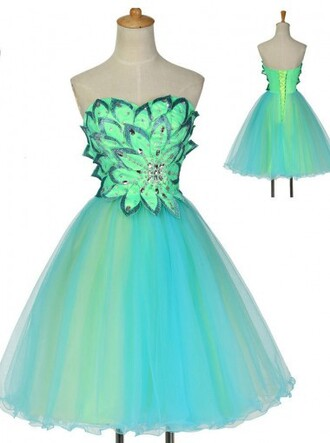 dress homecoming dress tulle dress a line dress