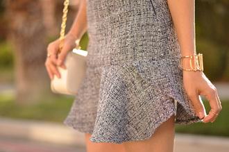 hapa time blogger dress jewels bag