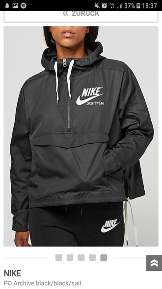 jacket nike grey windbreaker white nike windrunner