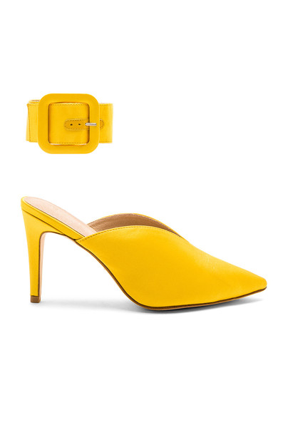 RAYE yellow shoes