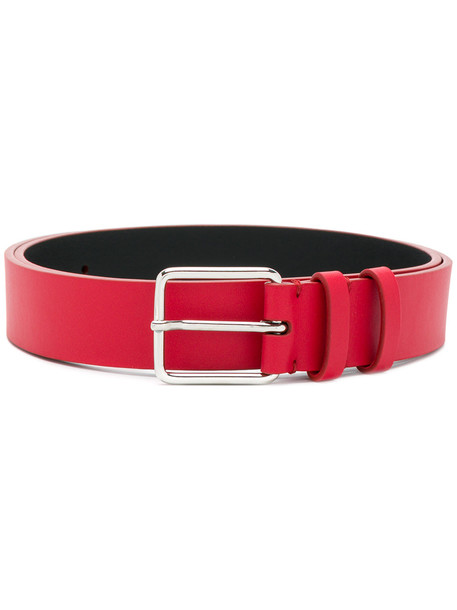 classic belt red
