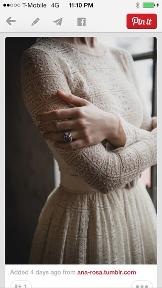 dress long sleeved dress