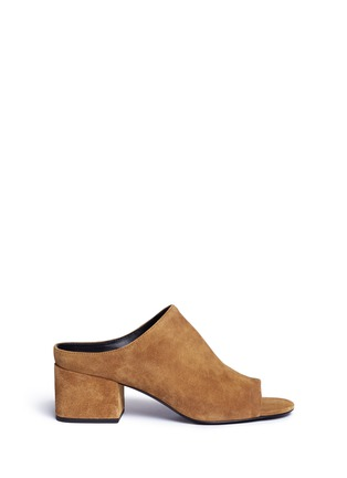 3.1 Phillip Lim | Open toe suede mules | Lane Crawford - Shop Designer Brands Online