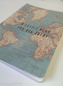 Vintage world map atlas mini notebook a little book for big ideas vintage world map atlas mini notebook a little book for big ideas travel gift gumiabroncs