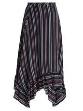 skirt,midi skirt,midi,navy,silk