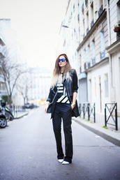 adenorah,shoes,t-shirt,coat,bag