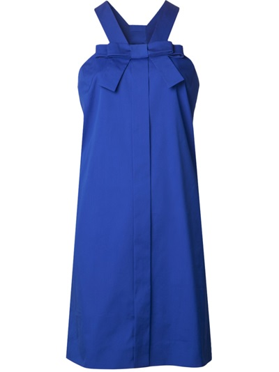 Viktor & Rolf Sleeveless Bow Dress - Angela's - Farfetch.com