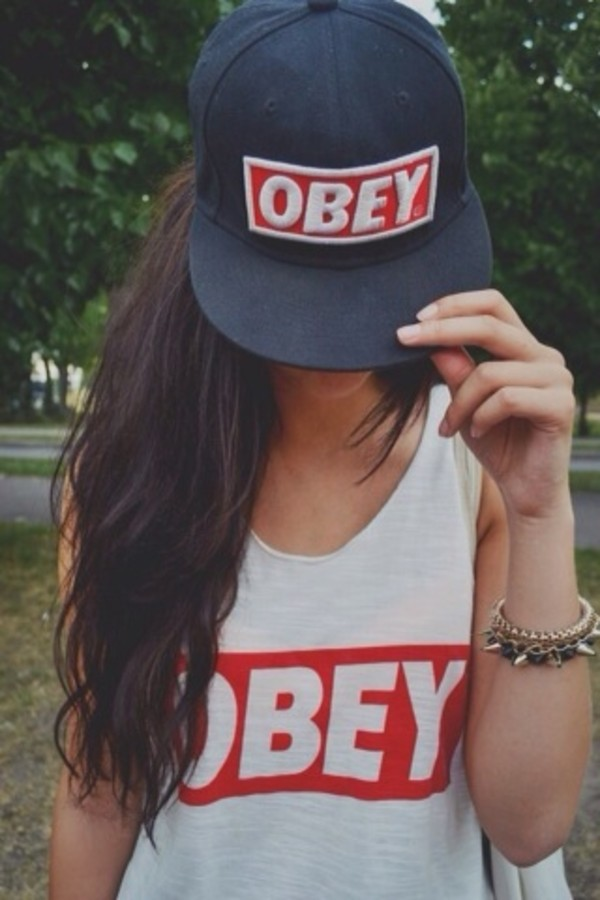 tank top obey dope wishlist