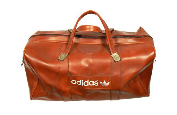 handbag bag leather bag adidas adidas originals brown whithe streetstyle