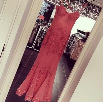 dress red dress kim kardashian lace dress prom dress