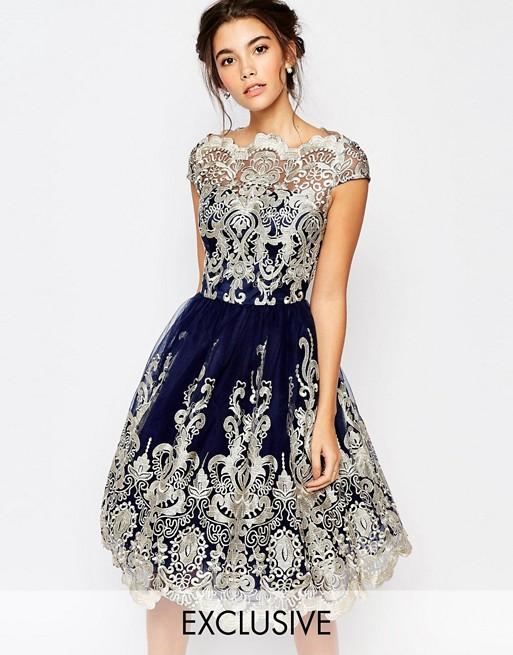 coupon code fashion exquisite design Chi Chi London - Robe de bal de fin d'année mi-longue en ...
