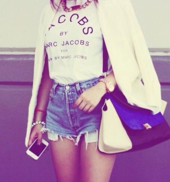 shirt marc jacobs t-shirt marc jacobs shirt marc jacobs tshirt vogue bag