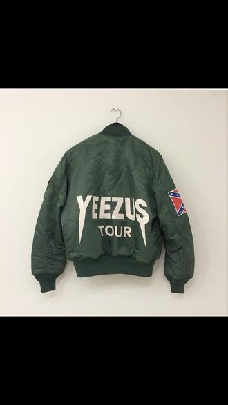 jacket kanye west yeezus world tour yeezy dope trill dope shit trill shit light jacket windbreaker