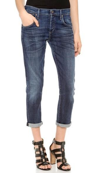 jeans vintage blue