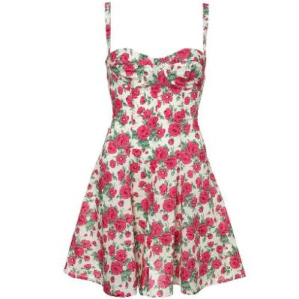 Floral Roses Dress Dress Clothes Floral Dress