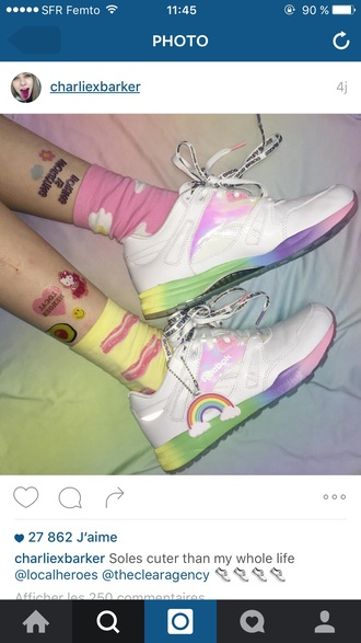 shoes reebok charliexbarker sports shoes