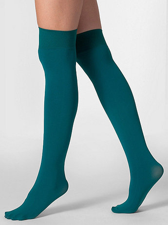 Opaque Over-the-Knee Sock | American Apparel