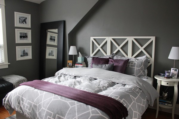 Home accessory grey grey light grey light gray bedding bedding bedroom - Chambre jeune adulte homme ...