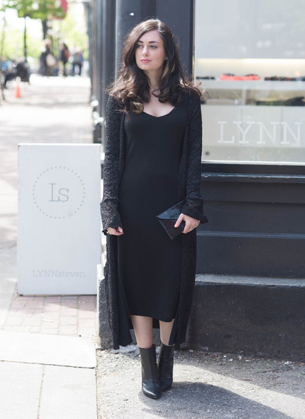 Coat: coco and vera, blogger, all black everything, black clutch ...