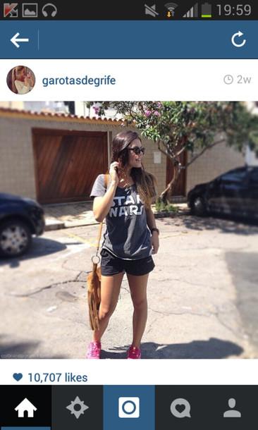 shirt hipster tumblr girl summer crush sunny sunglasses star wars cool swag sweatshirt storm trooper amazing