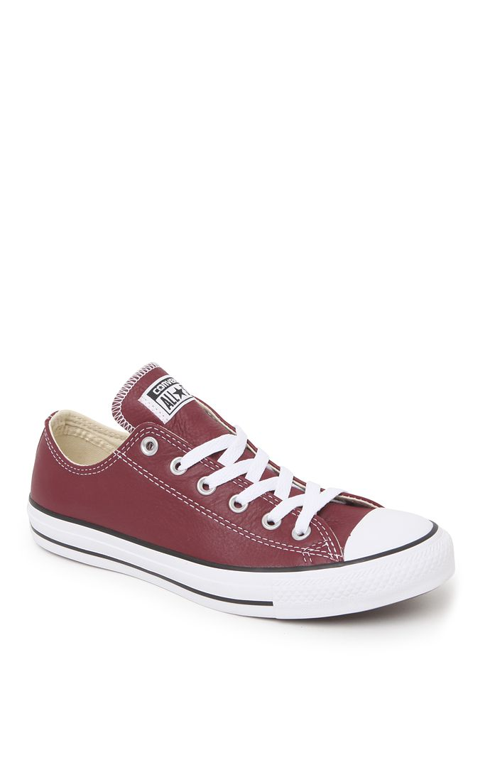 Converse Chuck Taylor All Star Seasonal Leather Sneakers at PacSun.com