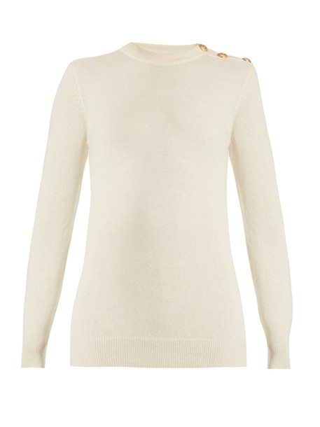 Balmain sweater wool white
