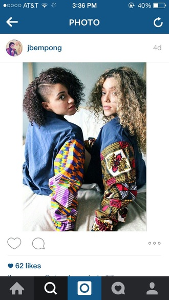 jacket vintage retro jeans 90s jacket coat african print dope