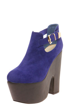 Jasmine Buckle Trim Chunky Shoe Boot at boohoo.com