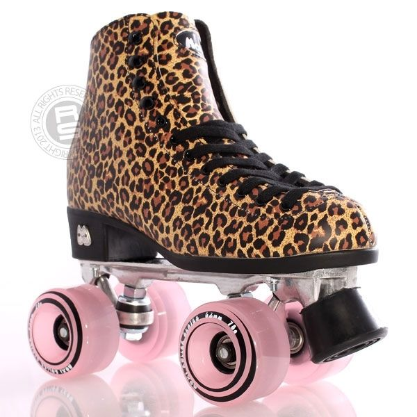 Moxi Ivy Roller Skates - Jungle Tan Leopard | eBay