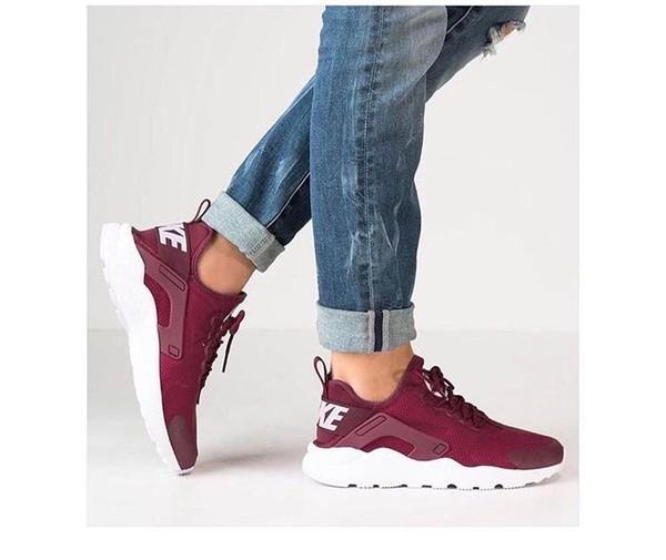 Wmns Nike Air Huarache Run Ultra Noble Red White Womens Running Shoes  819151,601
