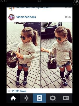 sweater child wool
